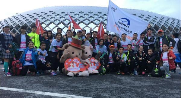 1.5万人参赛的深圳南山马拉松赛,其中还有这么一群人